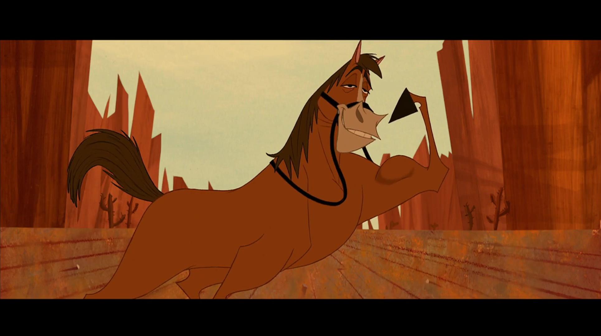 ferme rebelle dessin animé cheval HoCaPa