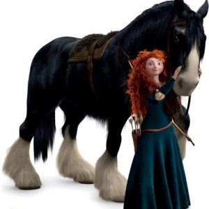cheval rebelle disney HoCaPa