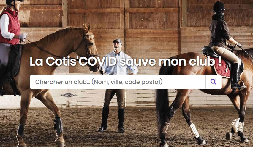 Hocapa, Cotis'Covid, A cheval demain, covid 19 chevaux