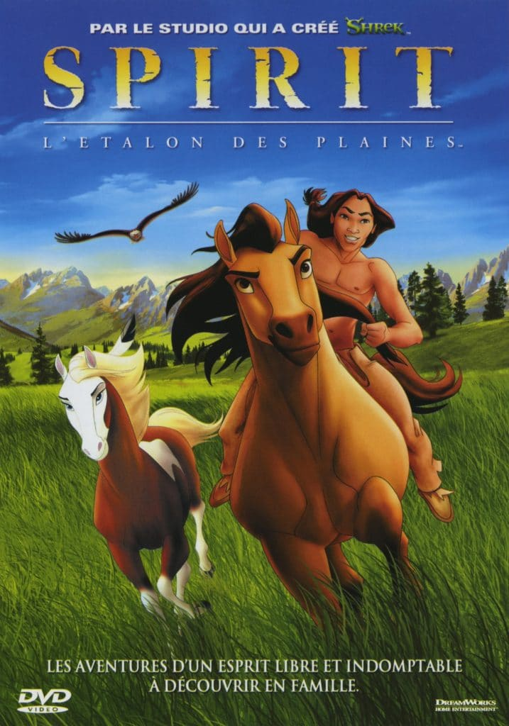 film mustang spirit, film d'animation, cheval sauvage, hocapa