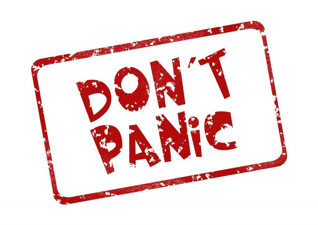 don't panic - hocapa